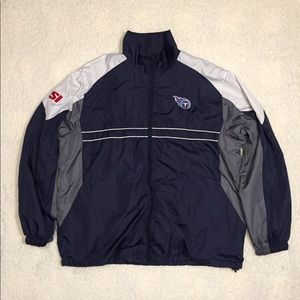 Tennessee Titans Windbreaker